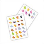 Картинки животных на шкафчики: скачать и распечатать
