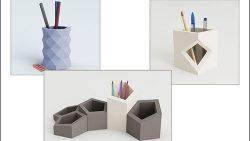 Карандашница из бумаги: скачать и распечатать шаблон