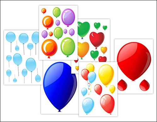 Шаблоны шариков для вырезания: скачать и распечатать